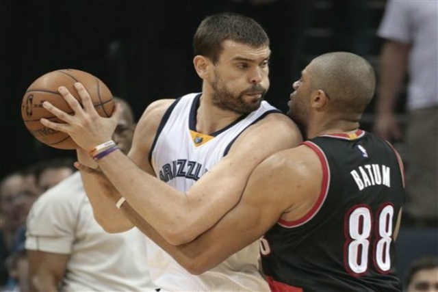 Grizz's Marc Gasol Out For Spain At Rio Olympics