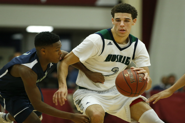 Watch UCLA Frosh Lonzo Ball HS Highlights (VIDEO)