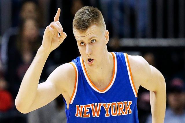 Knicks' Kristaps Porzingis Leads Latvia To Eurobasket quarterfinals