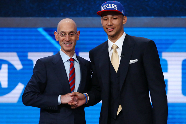 76ers Take LSU Star Ben Simmons With No. 1 Pick