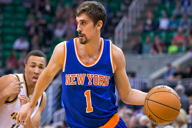 Ex-Knick Alexey Shved's 30 Leads Russia At Eurobasket