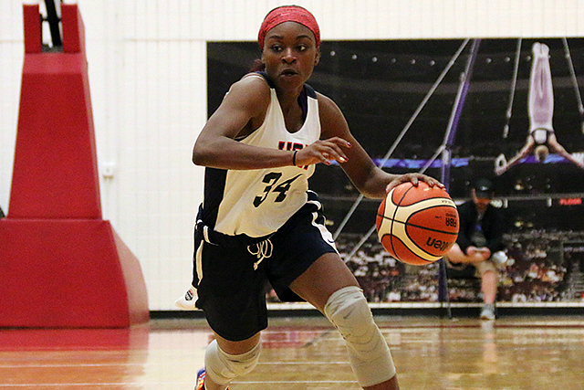 No. 7 Jr Dana Evans Named To USA U18 Team
