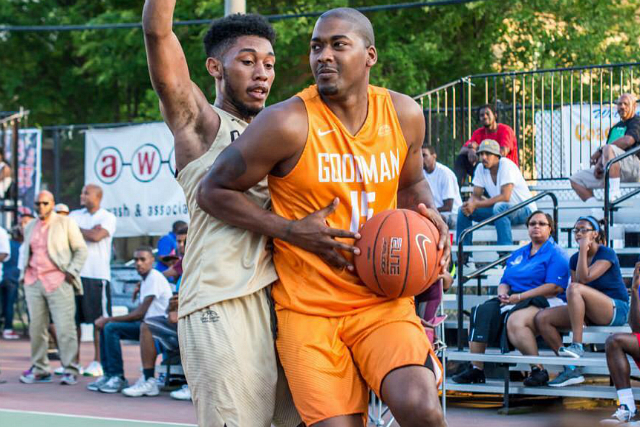 Goodman All-Stars Beat Balloholics Stars 95-78
