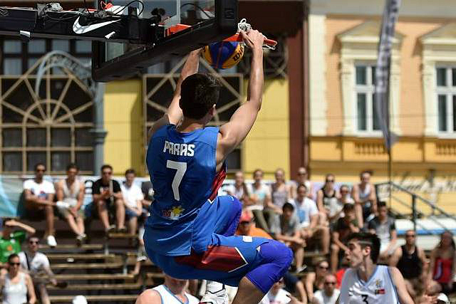 Watch Cal N'ridge's Kobe Paras At 3x3 World Cup