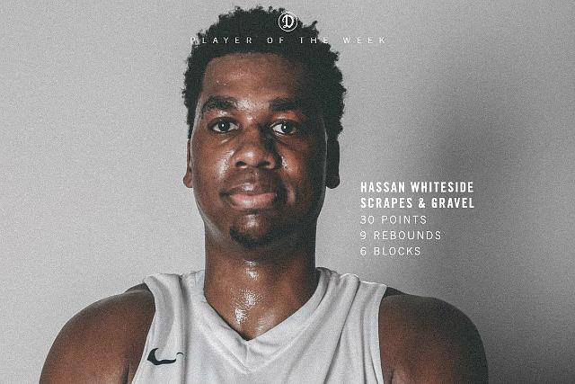 Drew League Wk. 8: Hassan Whiteside Scores 30