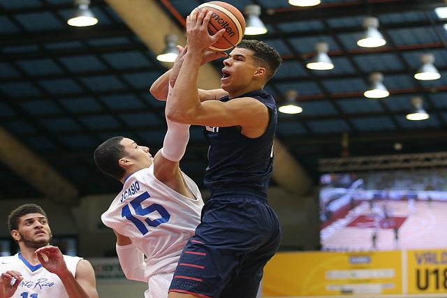 U18 Men Beat Puerto Rico 103-70 In FIBA Opener