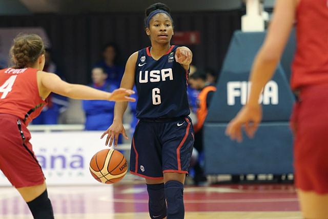 U18 Women Win FIBA Gold Medal, Top Canada 109-62