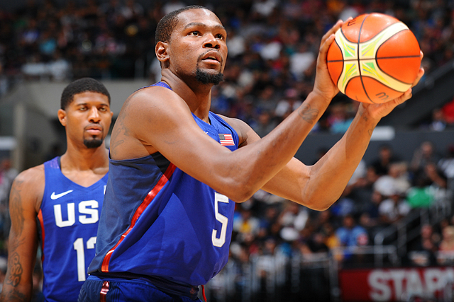USA Olympic Team Crushes China 106-57 In Exhibit