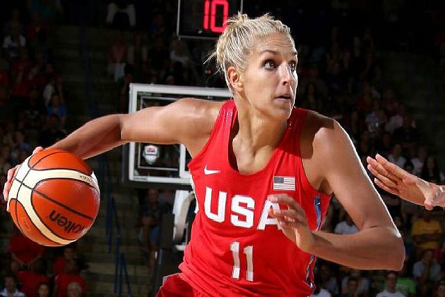 USA Olympic Women Beat France ExhibitNEW427
