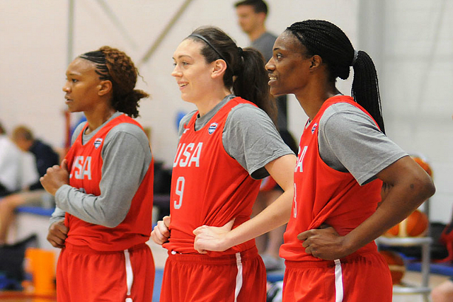 USA Olympic Women's Team: Strength In Numbers