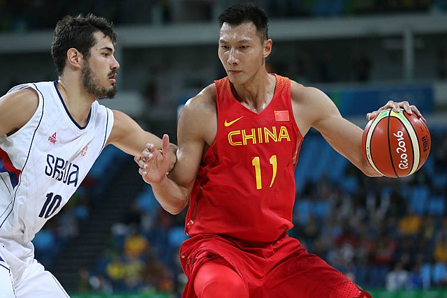 NBA's Jianlian Yi Has 29 Pts, 16 Bds In China