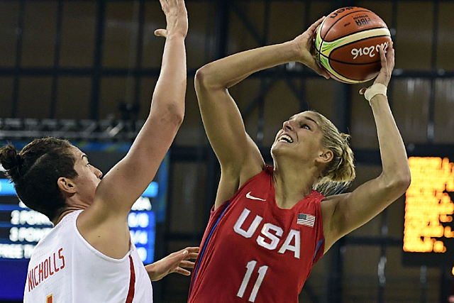 USA Olympic Women Rout Spain 103-63 In Rio