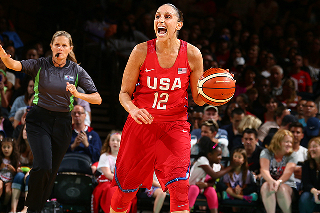 USA Olympic Women Top Australia 104-89 In Exhibit
