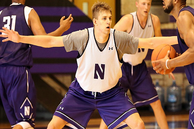 Northwestern Frosh Rapolas Ivanauskas Will Miss Season