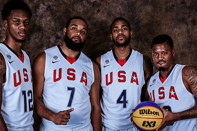 Olympics Add 3x3 Basketball