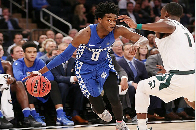 Kentucky's De'Aaron Fox SEC Freshman of Week : BlacktopTV