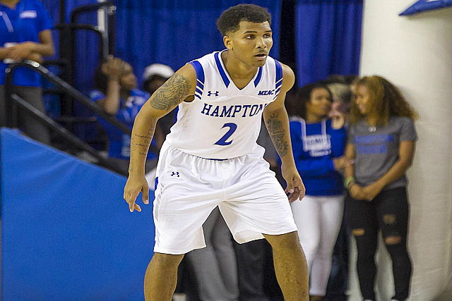 Hampton's Jermaine Marrow MEAC Player Of Week