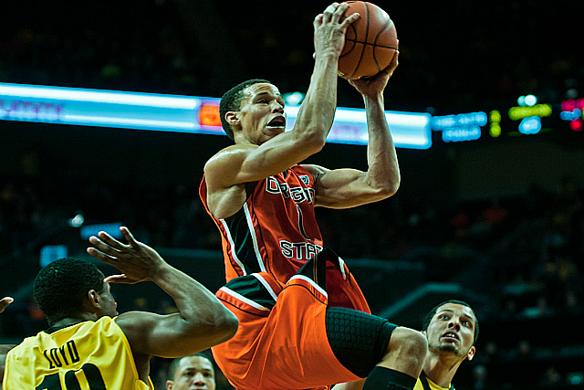 Oregon St's Jared Cunningham Drops 48 In China