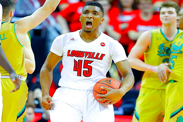 Louisville's Donovan Mitchell Rising In NBA Draft