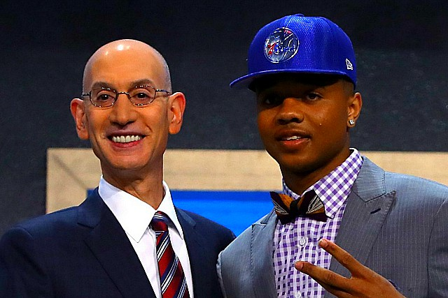 76ers Tab Markelle Fultz No. 1 In NBA Draft