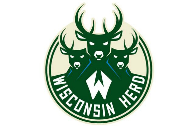 Bucks Reveal New G League Wisconsin Herd Logo