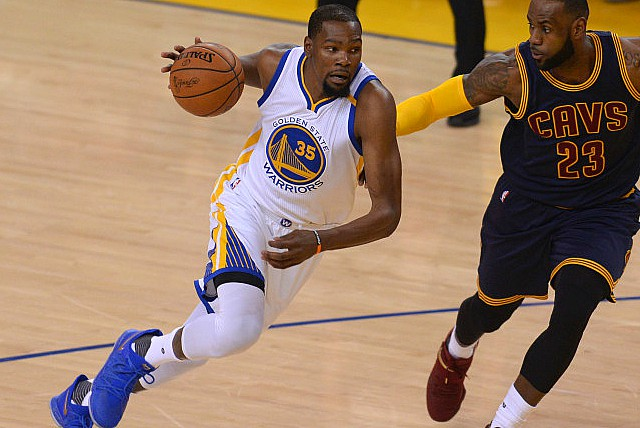 KD's 38 Lead Warriors Past Cavs 113-91 In Game 1