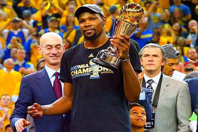 Durant's 39 Lead Warriors To NBA Championship