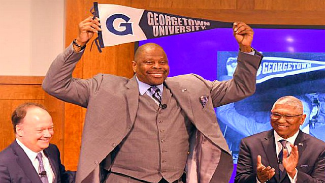 Patrick Ewing Selects Georgetown Coaching Staff