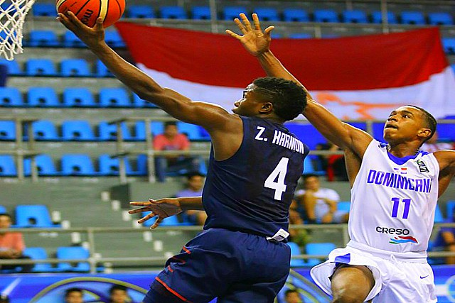 USA U16 Men Beat Dominican Republic 94-45