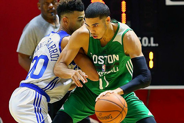 Duke's Jayson Tatum Drops 21 In NBA Summer League