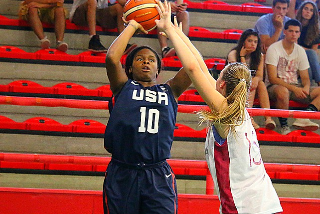 USA U19 Women Beat Latvia 64-56 In Exhibition