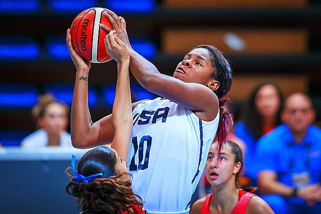 USA U19 Women Rout Puerto Rico 104-46