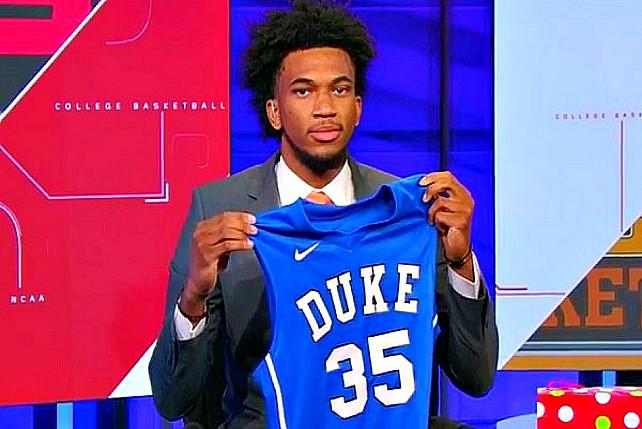 Duke's Marvin Bagley Preseason 1st Team All-ACC