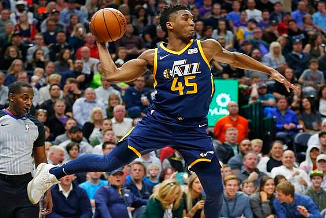 Louisville's Donovan Mitchell Top Rookie Scorer