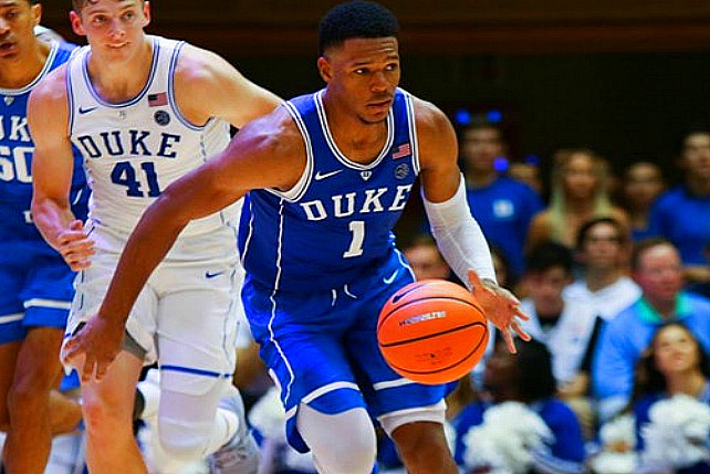 Duke's Trevon Duval Sets Freshman Assist Record