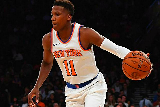 Knicks Defend Rookie Ntilikina After LeBron Diss