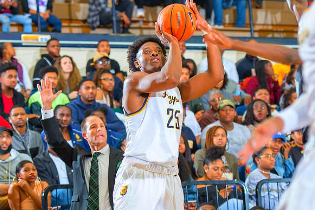 NC A&T's Femi Olujobi Leads Nation In Scoring