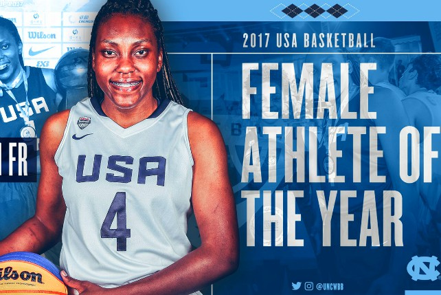 Janelle Bailey USA Basketball Athlete Of Year