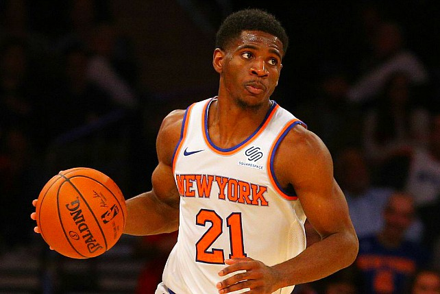 Knicks' Dotson Plays NBA & G League On Same Day